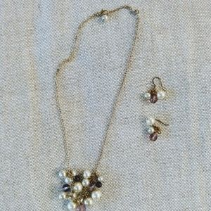 Jcrew earrings and necklace